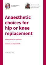 Anaesthetic Choices for Hip or Knee Surgery