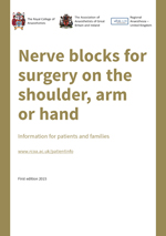 Nerve Blocks for surgery on the Shoulder, Arm or Hand