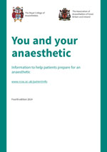 You and your anaesthetic